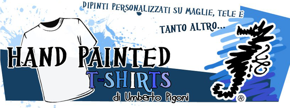 Magliette dipinte a mano